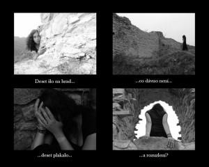 Deset na hradě, vítězná fotosérie v soutěži Polibek múzy 2007