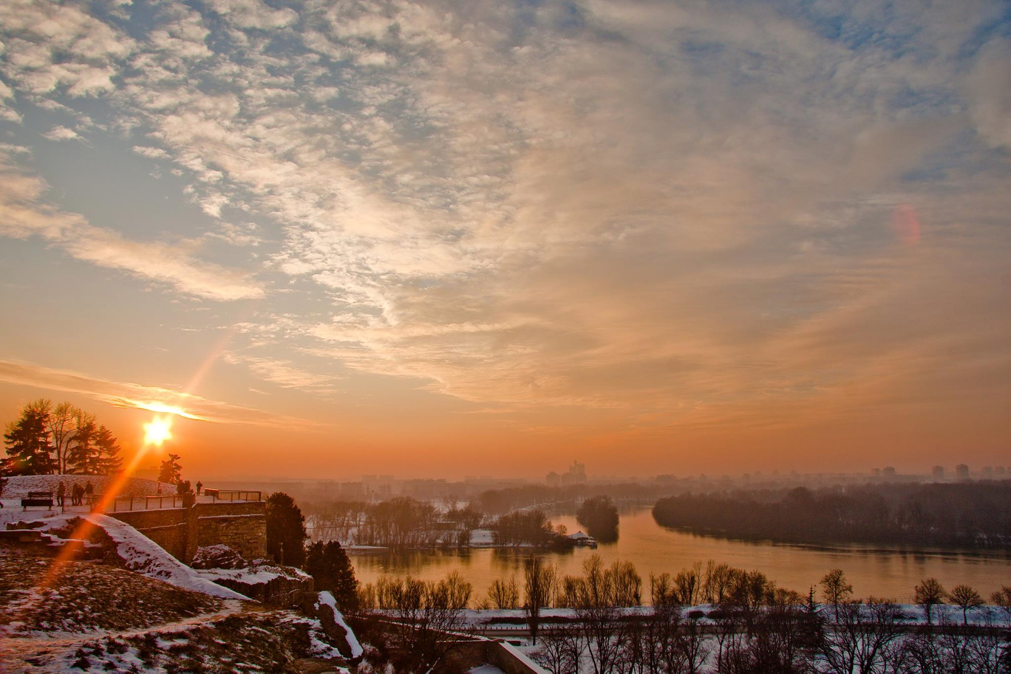 Na hradě v Bělehradě